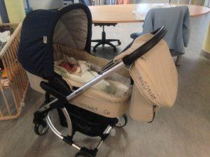 Sortie de maternité : matériel de puériculture