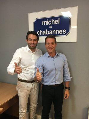 MARSEILLE-PARIS EN 13 TRAILS  Lionel Mari avec  Michel de Chabannes
