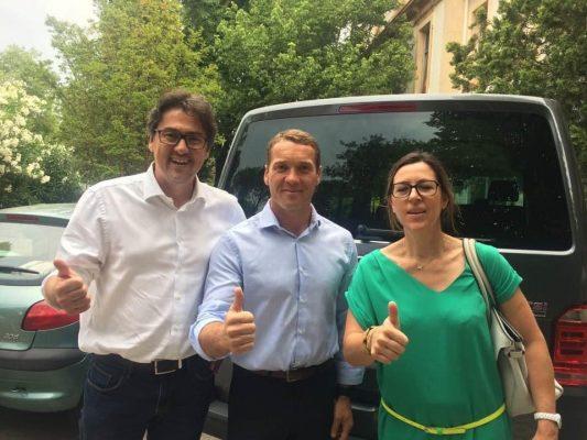 MARSEILLE-PARIS EN 13 TRAILS Avec Stéphane et Caroline Pujol de l'immobilière Pujol