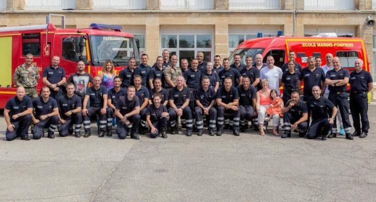 TRAIL MARSEILLE-PARIS EN 18 CASERNES   École des marins pompiers de la Marine la Parette